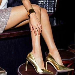 Nine West Gold Tatiana-S Dress Pump